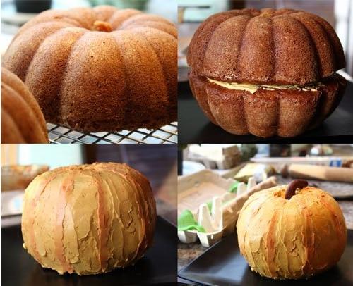 bundt cake pumkin