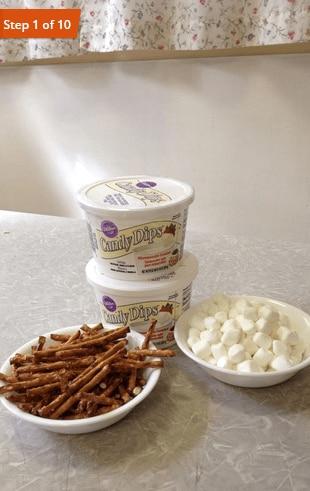 pretzel bones step 1