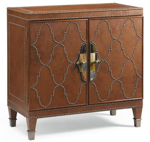 Leather Decorative Chest