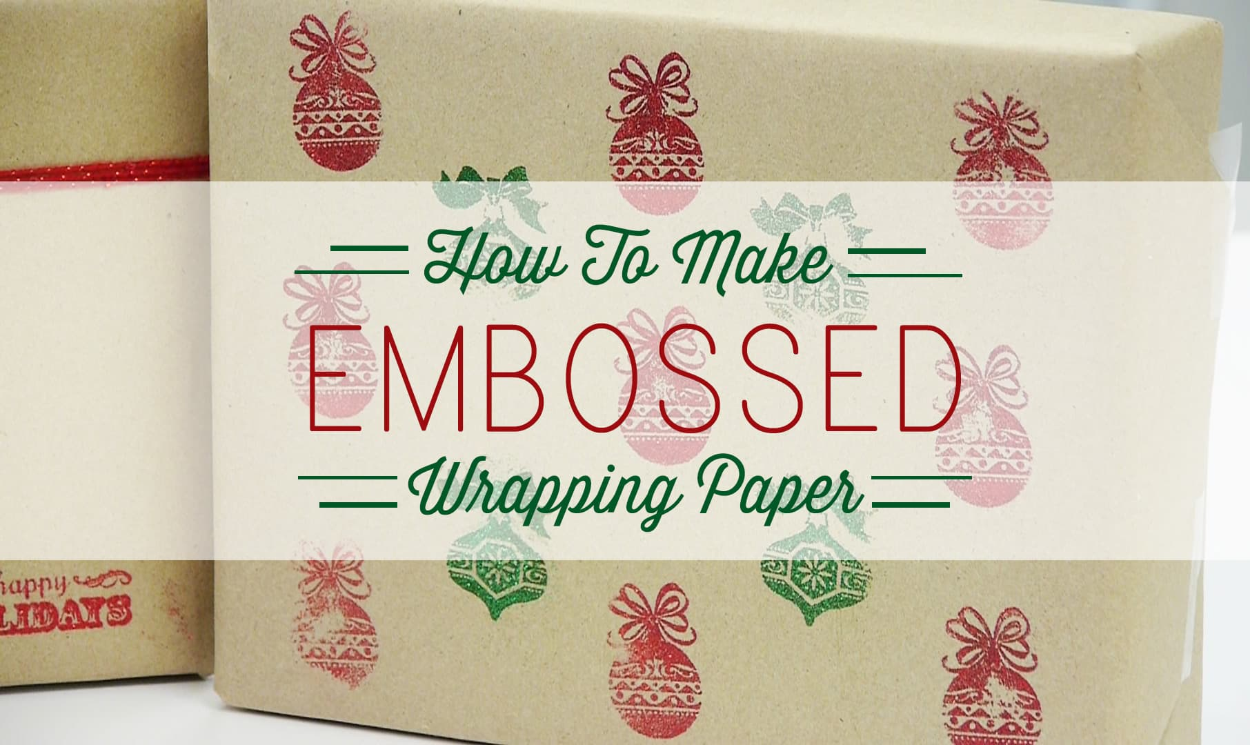 Embossed-Wrapping-Paper