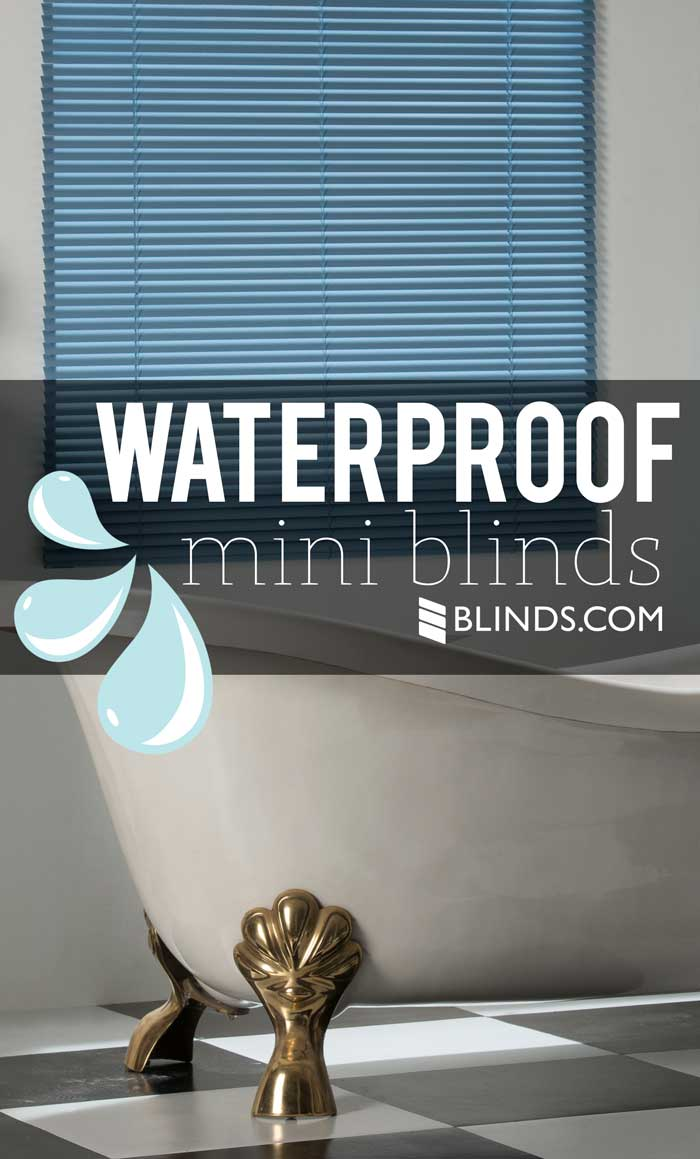 Waterproof Mini Blinds The Rubber Ducky Of Window Treatments The
