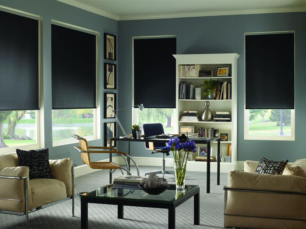 Get ready for game day best window treatments for media for Toile fenetre ikea