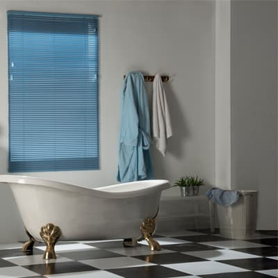 Waterproof Mini Blinds The Rubber Ducky Of Window Treatments The Finishing Touch