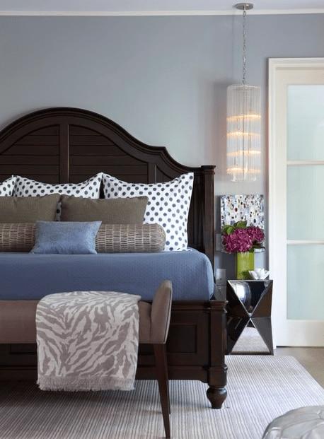 polka dot pillows for bedroom