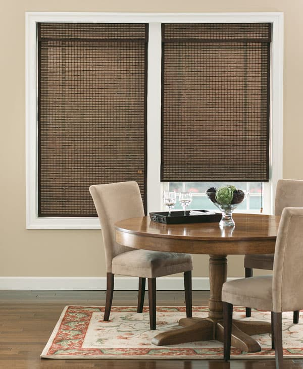 Bali Natural Woven Wood Shades from Blinds.com
