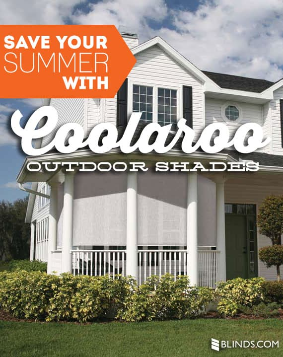 Coolaroo Outdoor Shades From Blinds.com