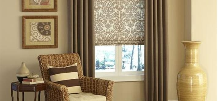 How to mix and match window treatments the finishing touch for Mix and match curtains colors