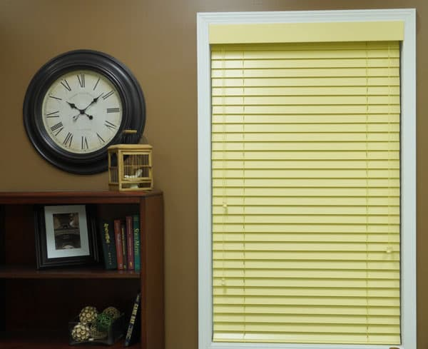 Pastel Yellow Blinds from Blinds.com