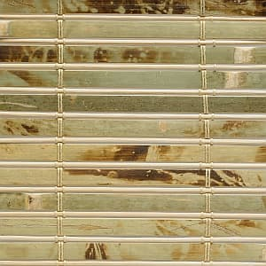 Trending On The Newsstands Textural Woven Wood Shades