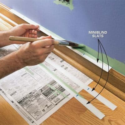 12 Surprising Ways To Use Old Mini Blinds The Finishing