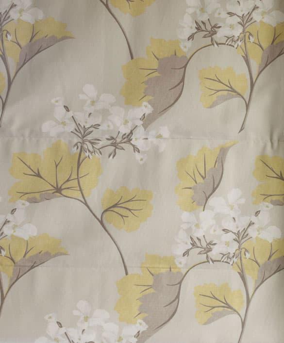 Laura Ashley Millwood Leaf Yellow Fabric