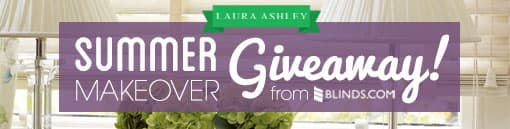 Laura Ashley summer giveaway