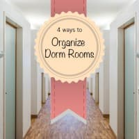 Organize your dorm how to tips
