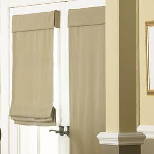 Roman Shades For Front Door