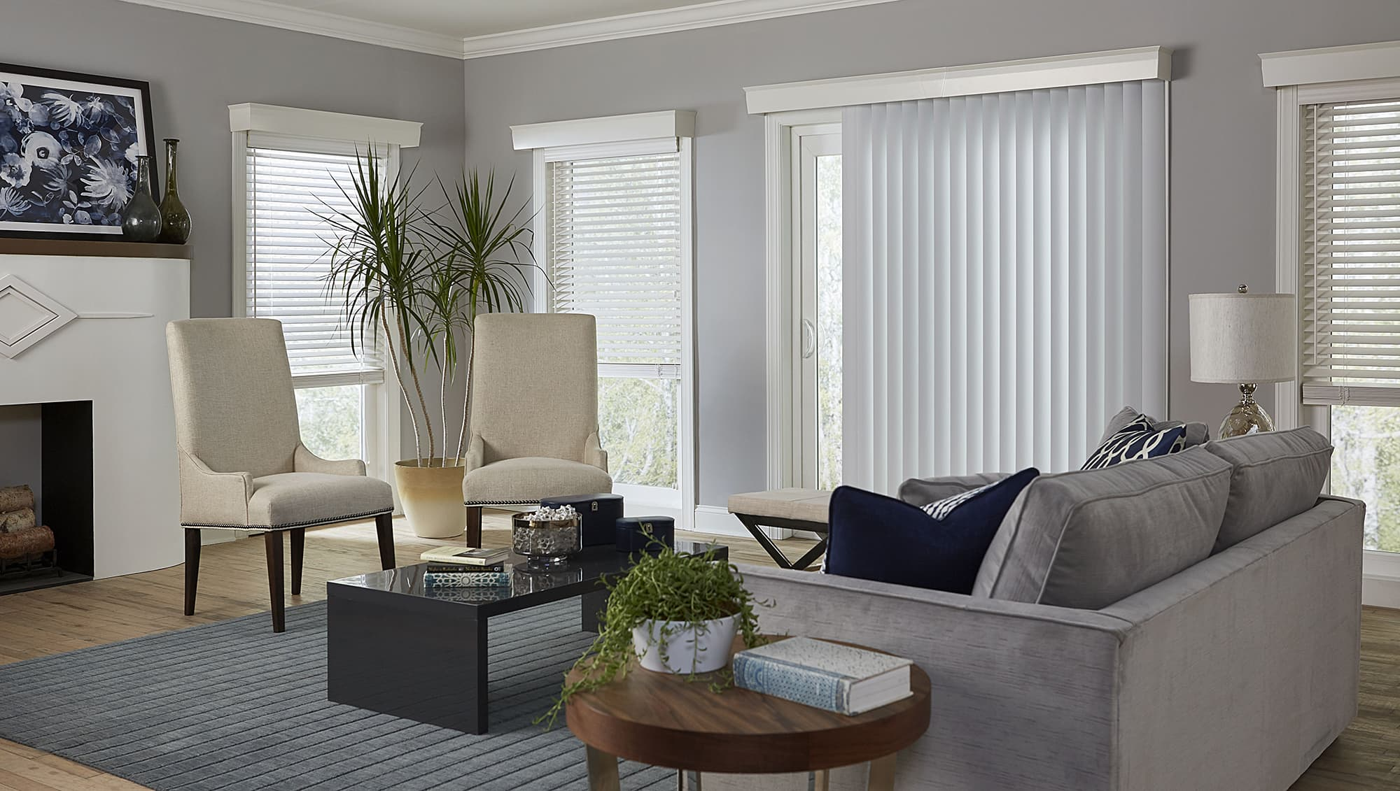 Pictures Of Window Treatments For Sliding Patio Doors: 10 Things You MUST Know When Buying Blinds For Doors
