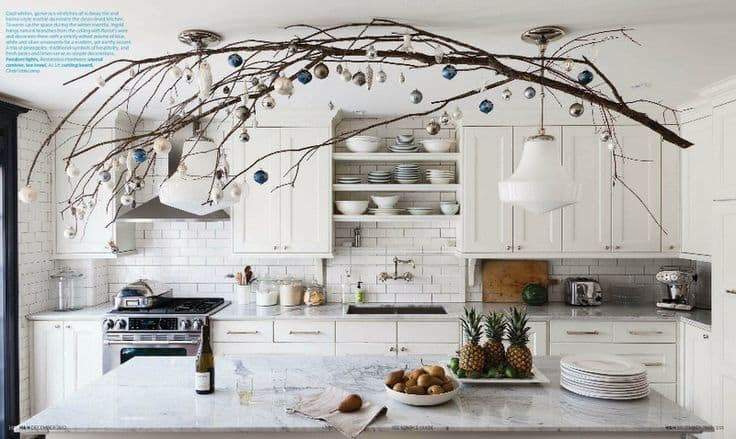18 Ways To Decorate With Hanging Branches The Finishing