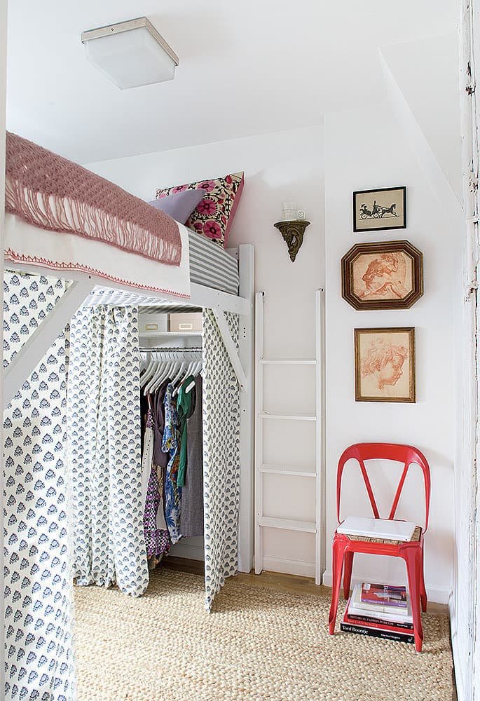 Curtains Under Bunk Bed