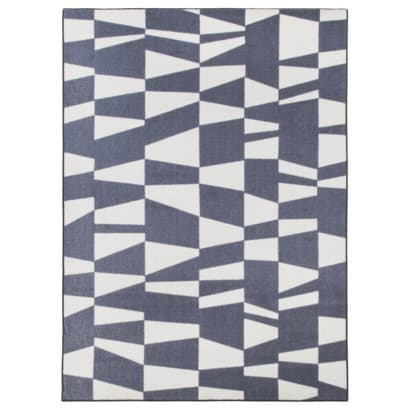 grey and white rug Dorm Room Decor 101: For the Dudes