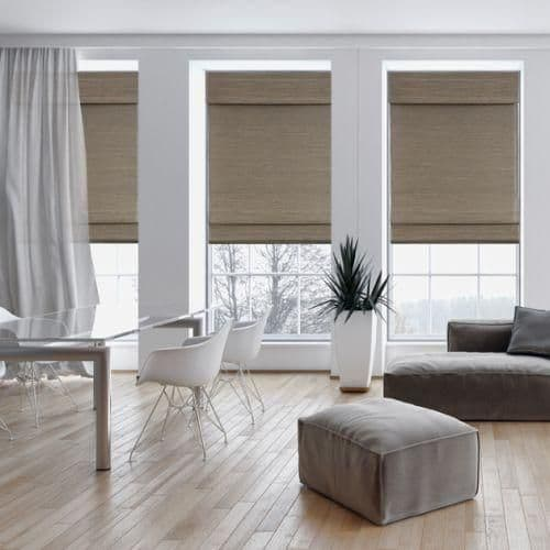 Raffia Blinds The Finishing Touch