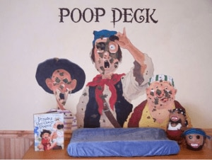 nursey decor - poop deck