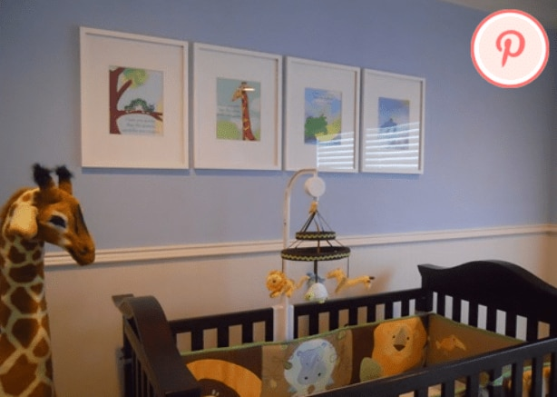 nursey decor story book 2 Pinterest Fab 4: Nursery Decor Ideas