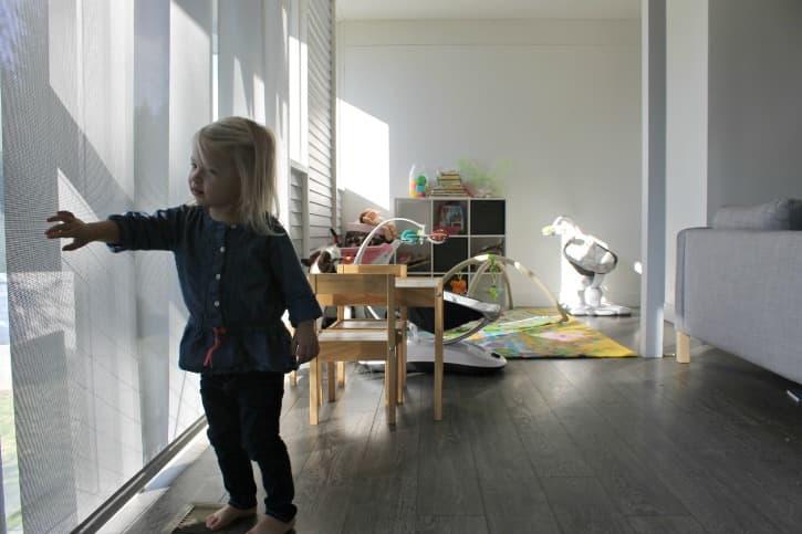 Mid Century Family Home Gets Sleek Solar Shades The