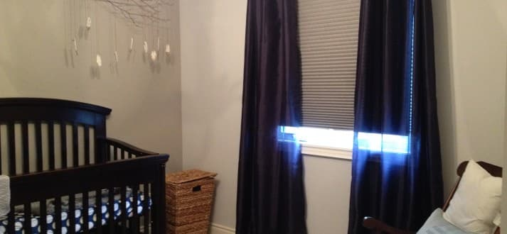 Blackout shades for nursery