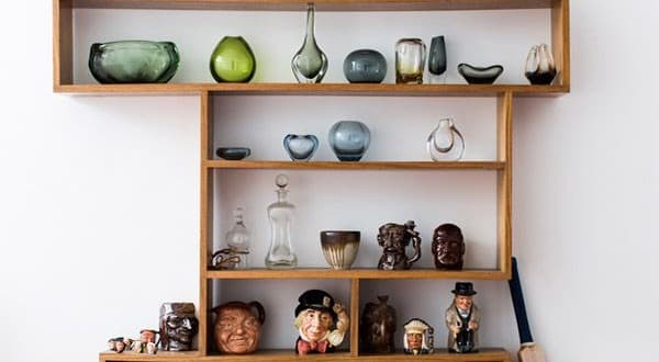 Mug and ceramics display