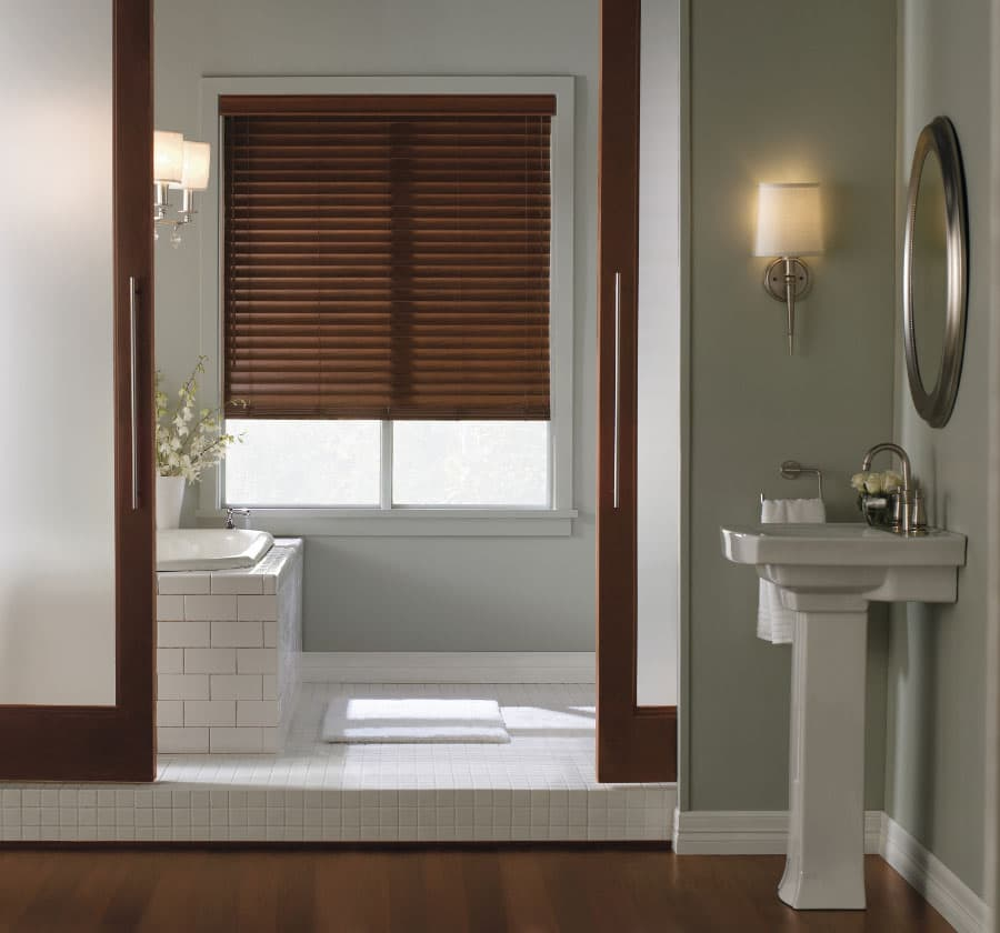 Why choose levolor blinds a legacy of quality the for Blinds for bathrooms