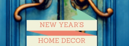 Home decor new year's resolution