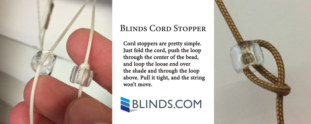 Blind Cord Stoppers 3.18.15