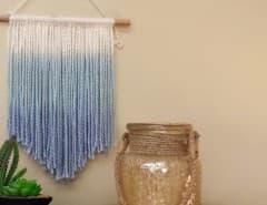 Dip Dyed Wall Hanging