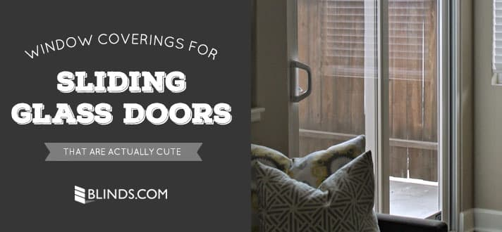 Window Coverings for Sliding Glass Doors That Are Actually Cute - The ...