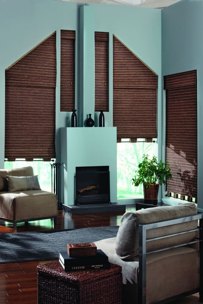 Blinds For Trapezoid Windows The Finishing Touch