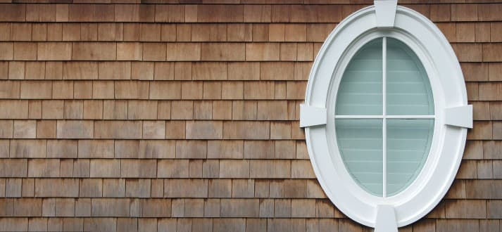 How to cover an oval window