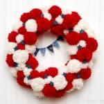 Fourth-of-July-Pom-Pom-Wreath
