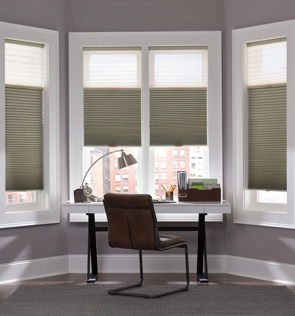 the ultimate guide to blinds for bay windows the finishing touch. Black Bedroom Furniture Sets. Home Design Ideas