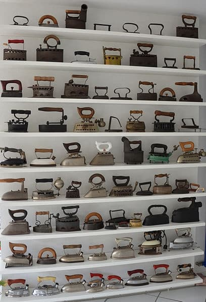 Vintage Iron Collection Display