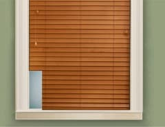 blinds with cut outs