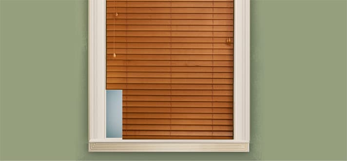 How Do I Order Blinds With A Cut Out?