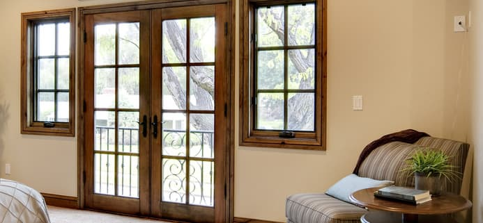 What Is The Best Window Treatment For French Doors