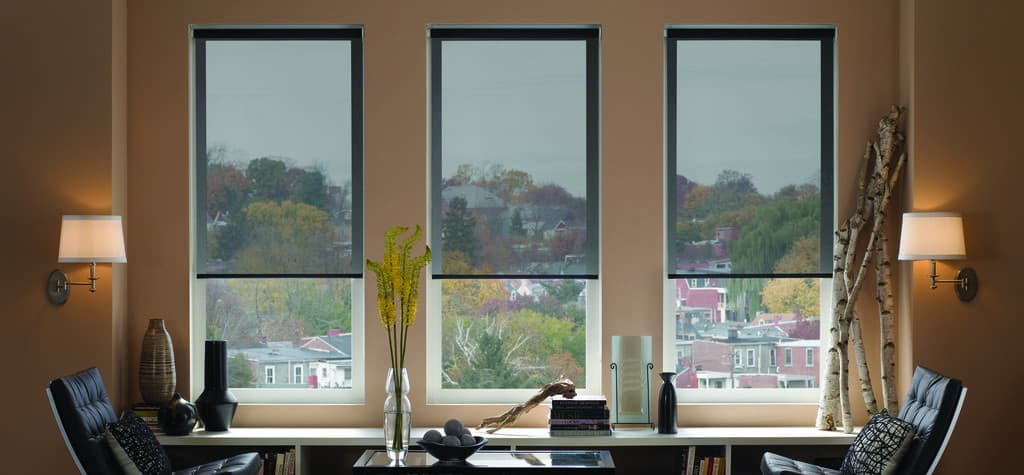 Black Mesh Window Shades The Finishing Touch