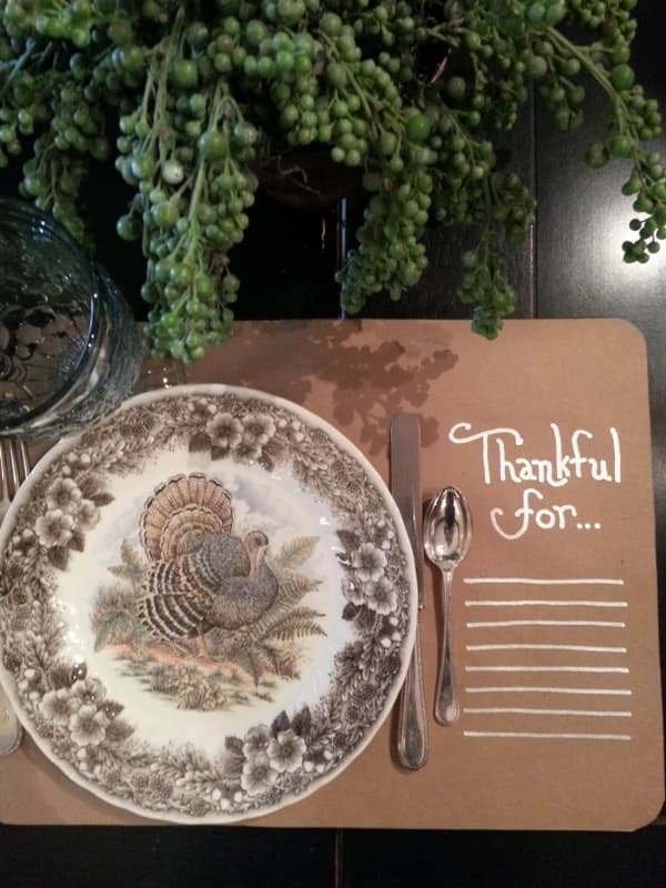 Thanksgiving-Placemat