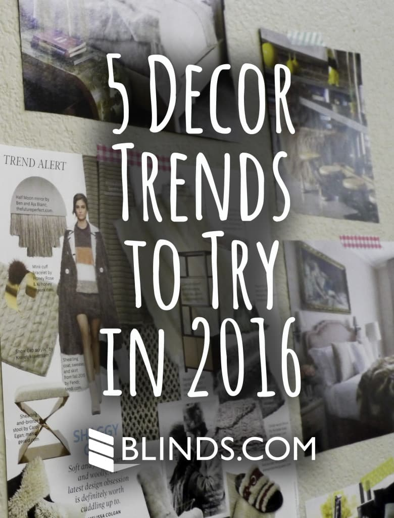 5 home decor trends to try in 2016 the finishing touch for Bedding trends 2016
