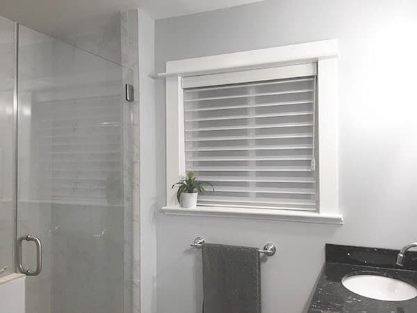 Perfect Bathroom Privacy With Radiance Sheer Shades | The Blinds.com Blog