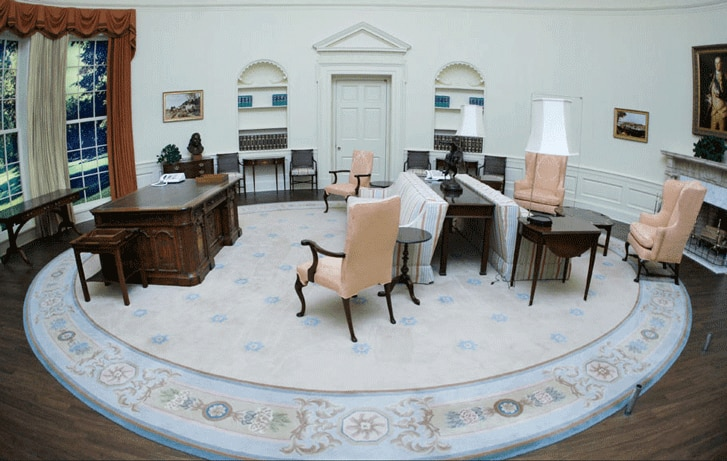 Oval Office Decor Through The Decades The Finishing Touch