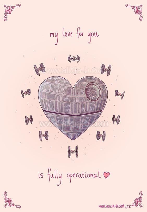 star wars star warsss - Geeky Valentines Cards
