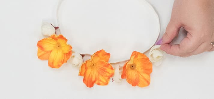 How to make flower crowns blog feature
