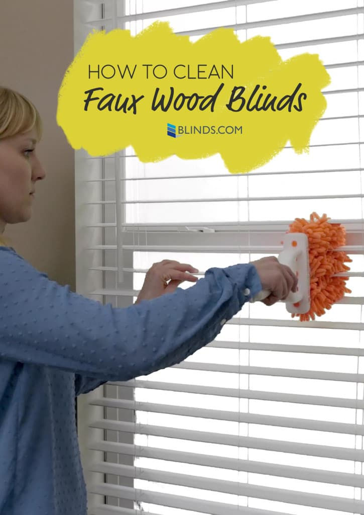 How To Clean Even The Grimiest Faux Wood Blinds The