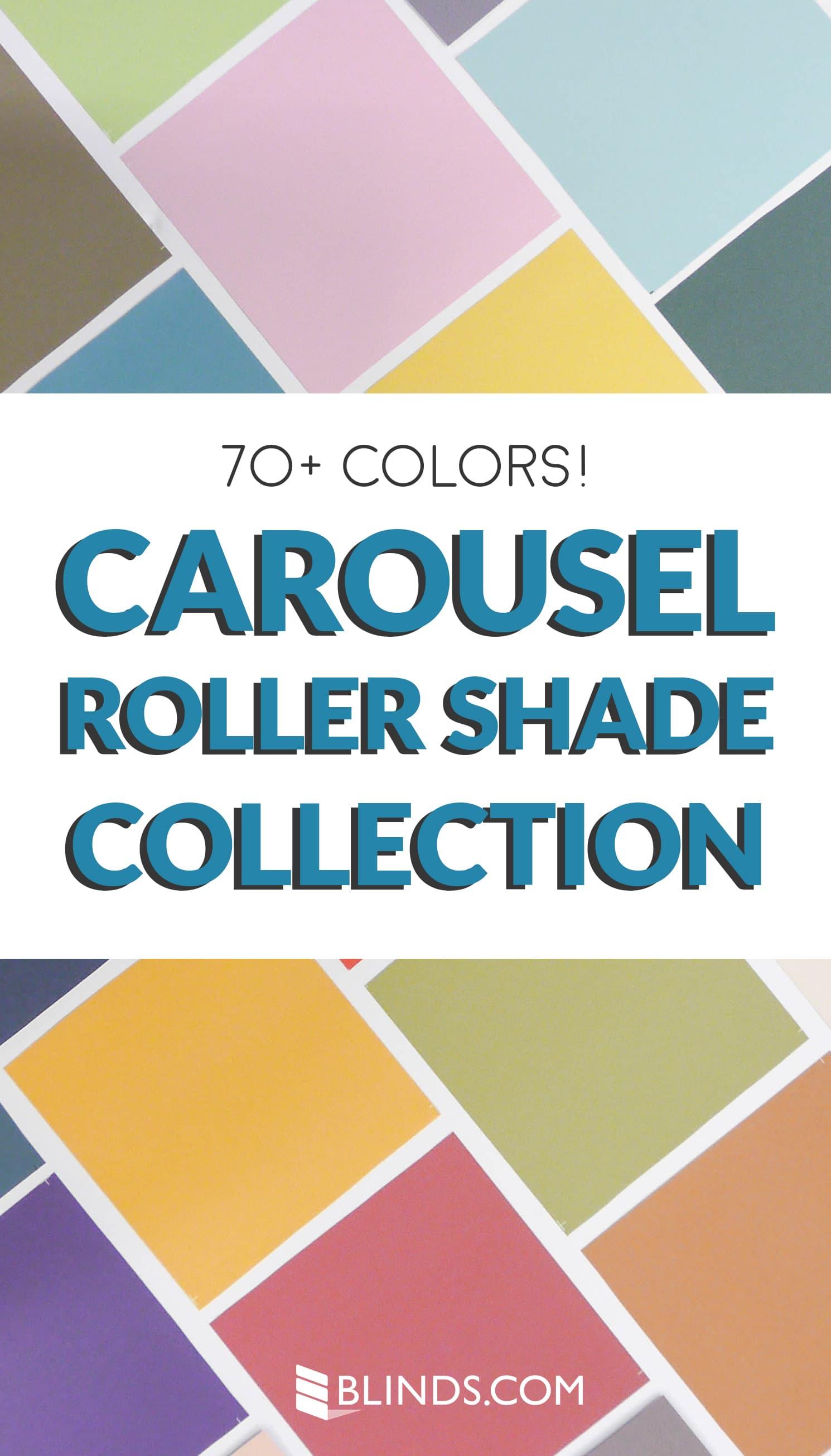 roller shade fabrics carousel pin short